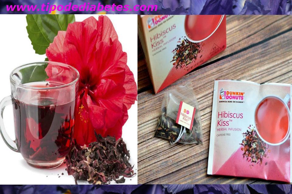 hibisco infusion para diabeticos