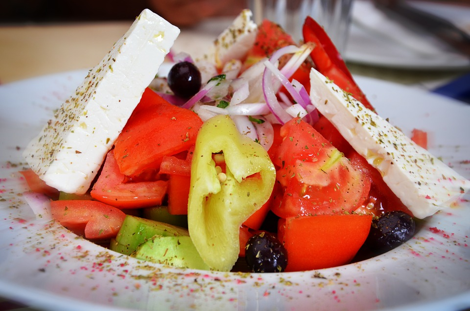 ensalada griega para diabeticos