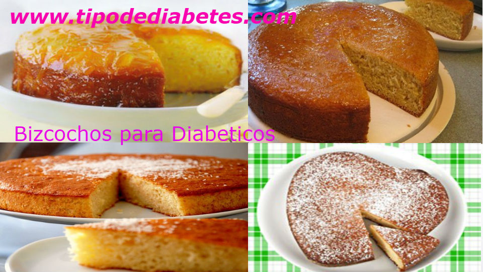 4 deliciosas recetas de bizcocho para diabéticos 100 % recomendadosLa reposteria diabetica es reconocida a nivel mundial por grandes nutriologos y recomenda