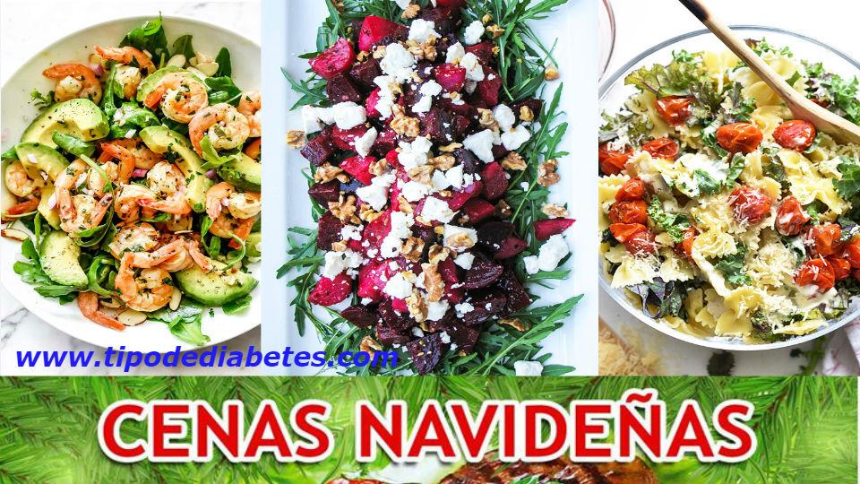 Ensaladas navideñas para diabeticos – Recetas completasSe acerca la navidad y el año nuevo y no sabemos que cocinar y sobre todo que no afecte nuestra gluco