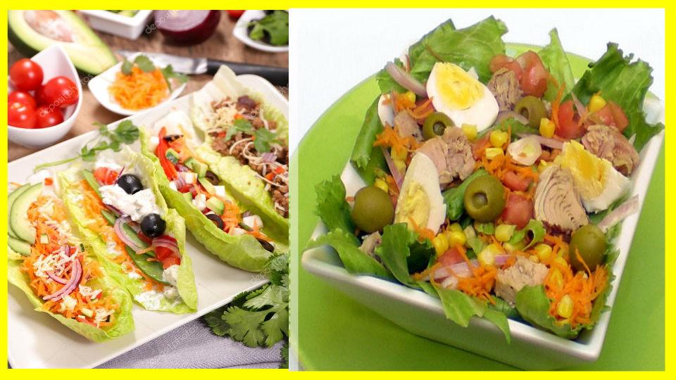Ensaladas verdes para diabéticosLas ensaladas son una de las mejores formas de obtener una gran cantidad de nutrientes y al mismo tiempo alimentarnos sin